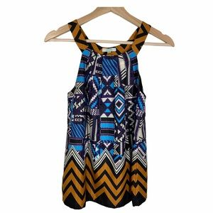 JADE by Melody Tam sleeveless blouse- size XS